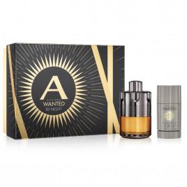 Azzaro Wanted by Night | Coffret Eau de Parfum, Déodorant Stick