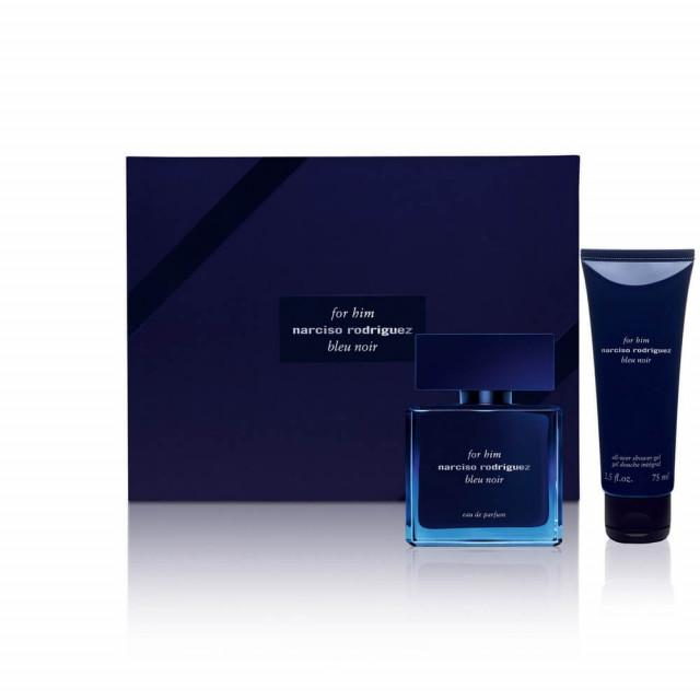 For Him Bleu Noir   Coffret Eau de Parfum et Gel Douche