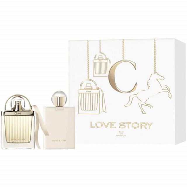 Love Story   Coffret Eau de Parfum & Lait Corps