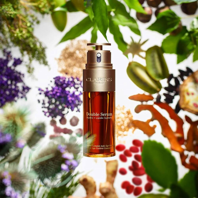 Double Serum - CLARINS Traitement Complet Anti-Âge Intensif