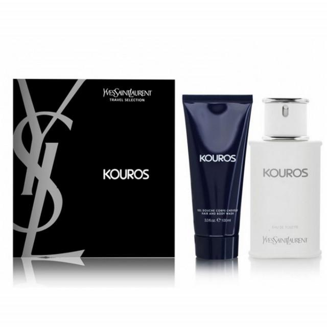 Kouros   Coffret Eau de Toilette en 100ml + Gel Douche